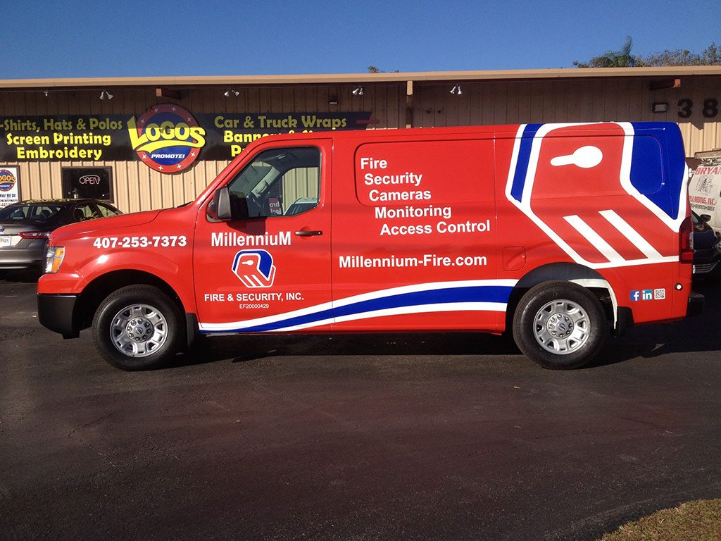 Orlando Van Vehicle Wrap