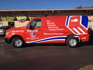 Orlando Van Vehicle Wrap