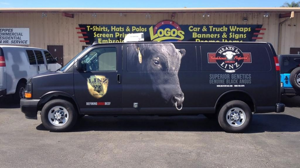 vehicle lettering and wrap in Orlando